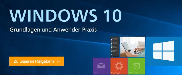 Windows 10 von A bis Z