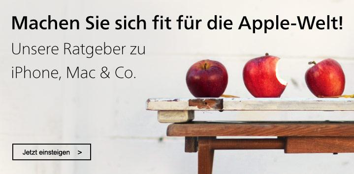 Bücher zu macOS, iPhone und Co.