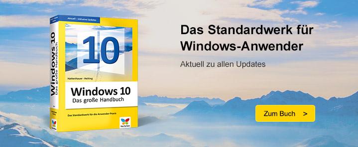Windows 10 – Das Handbuch