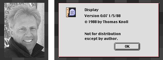 Sven Fischer und Display-Version 0.07
