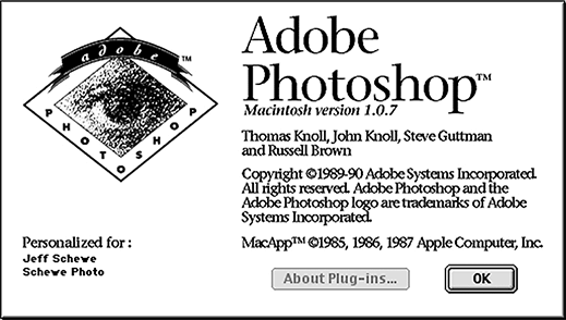 Photoshop Version 1.0.7