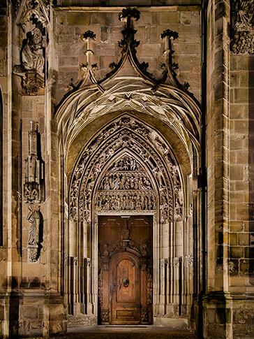 Ein Kirchenportal