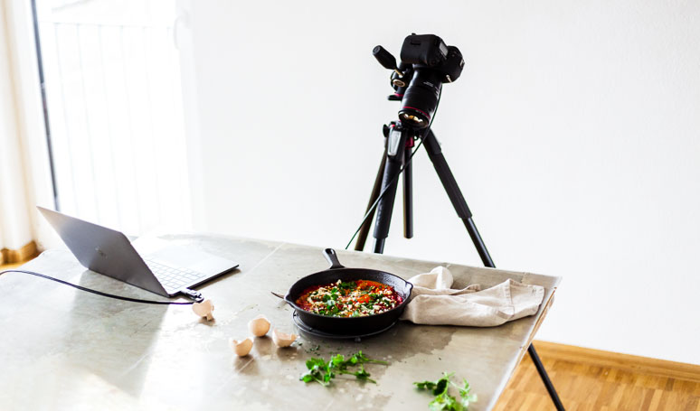 Foodfotografie: Die richtige Technik auswählen