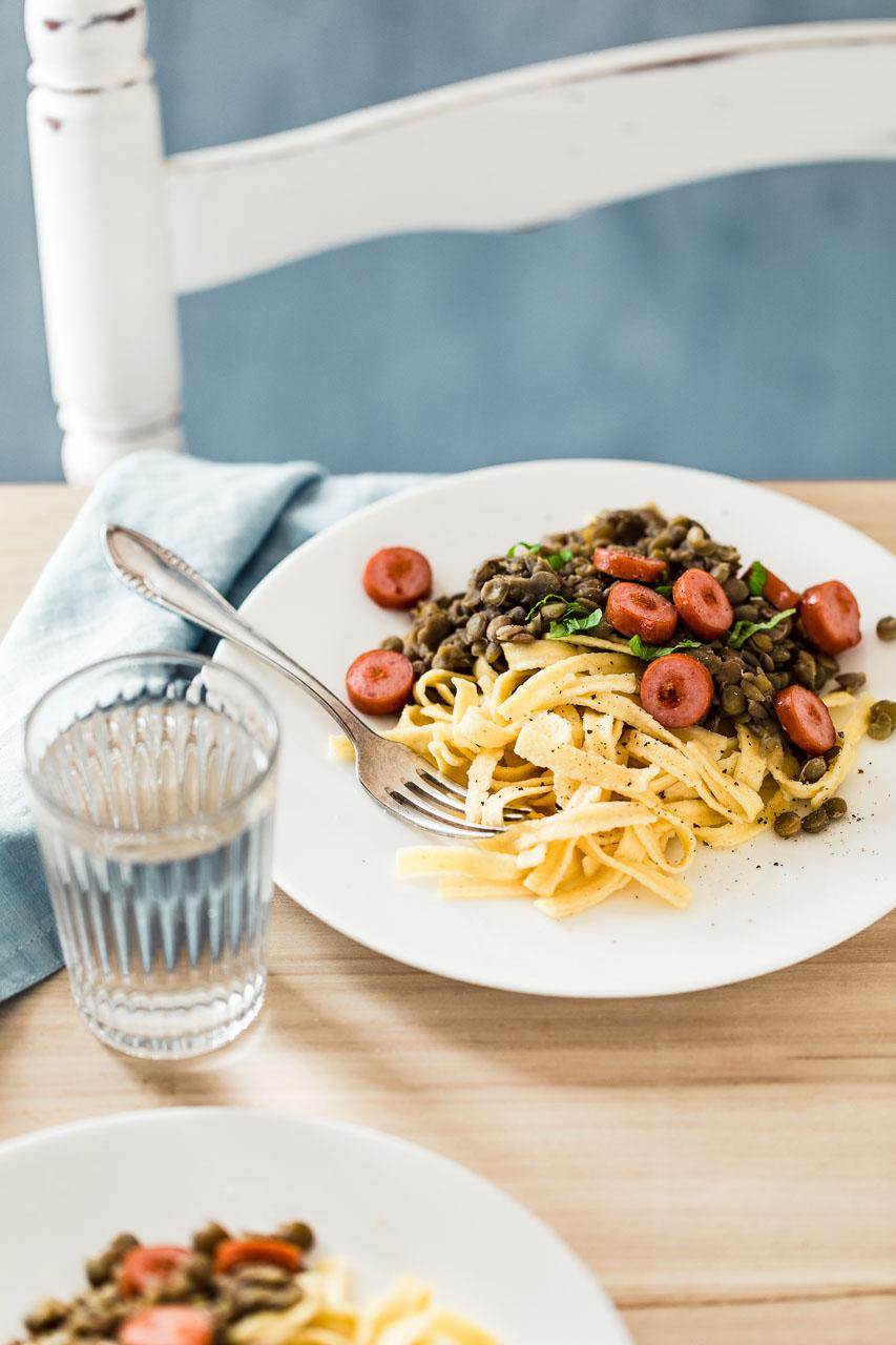 So stylen Sie Ihre Nudeln für das perfekte Foodfoto