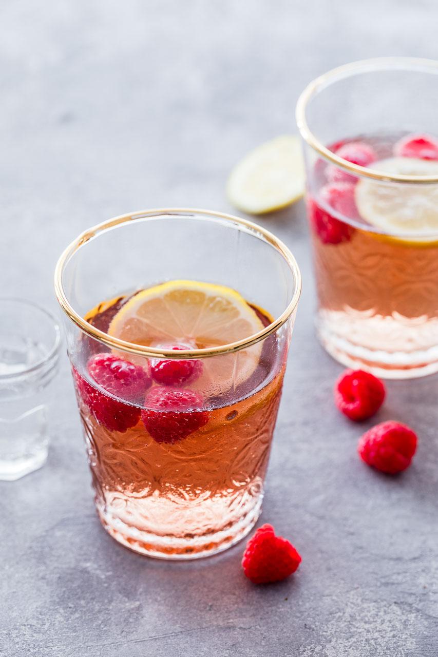 Der 75°-Winkel bringt die Früchte im Getränk sehr gut zur Geltung