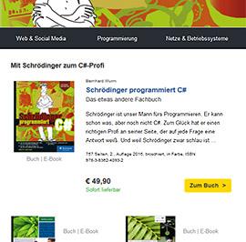 Rheinwerk Newsletter