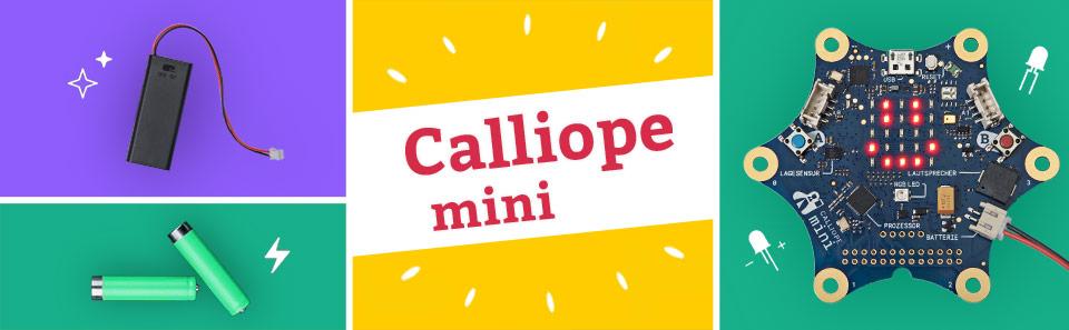 Calliope mini kennenlernen