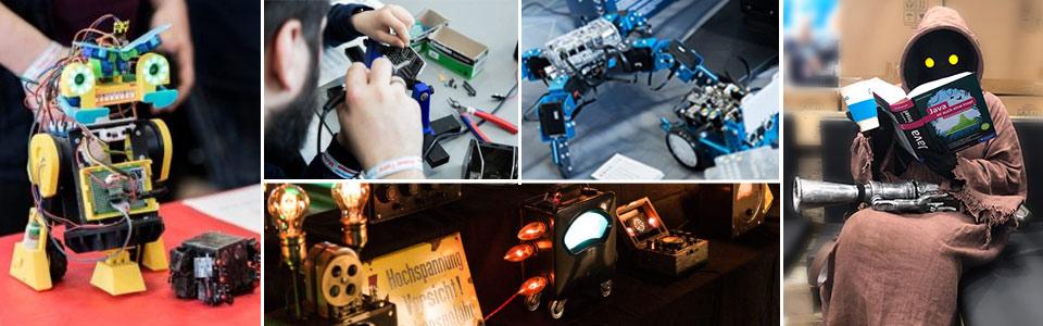 Impressionen von der Maker Faire Hannover
