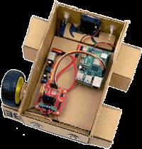 Ein Roboter-Auto mit dem Raspberry Pi