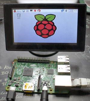 Raspberry Pi mit Monitor