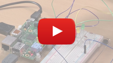 YouTube-Video RasPi mit Bananen steuern
