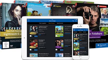 Ihre Downloads und DVDs auf der Rheinwerk Video App