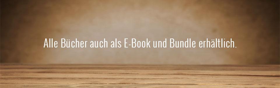 Bücher gedruckt, als E-Book und im Bundle