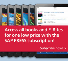 Access all SAP PRESS books at one low price!
