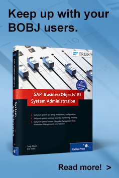 SAP BusinessObjects BI System Administration 2nd Edition