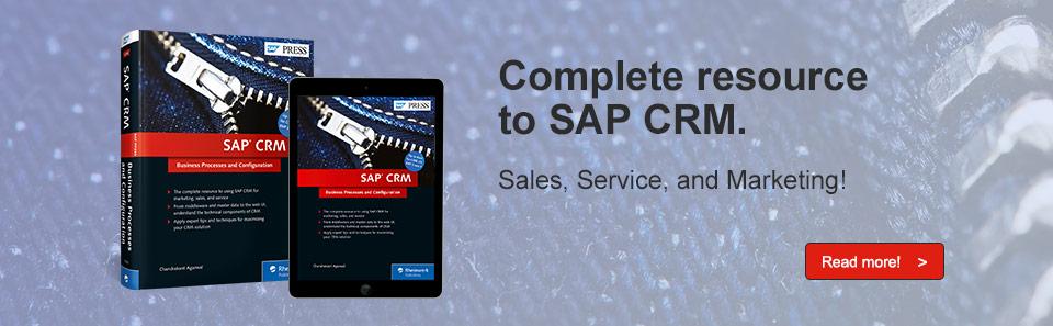 SAP CRM Guide