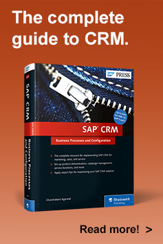 SAP CRM Business Processes and Configuration