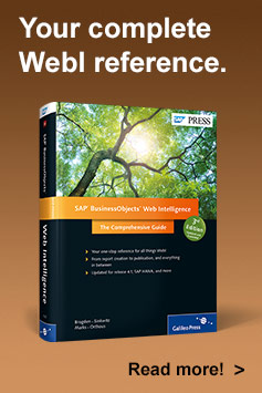 SAP BusinessObjects Web Intelligence - SAP PRESS Book