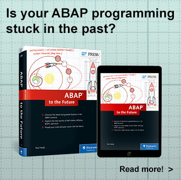 ABAP to the Future - SAP PRESS Book