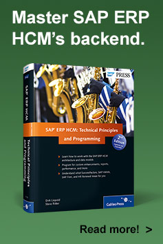 SAP ERP HCM: Technical Principles and Programming - SAP PRESS Book