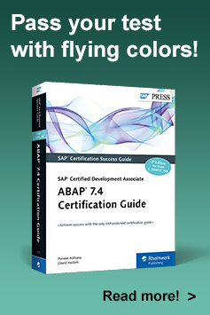 ABAP 7.4 Certification Guide—SAP Certified Development Associate