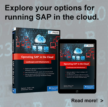 Operating SAP in the Cloud - SAP PRESS Book