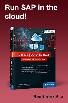 Operating SAP in the Cloud - SAP PRESS Book