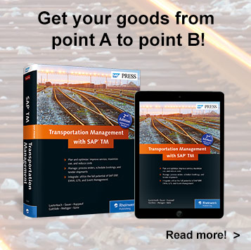 Transportation Management with SAP TM - SAP PRESS Book
