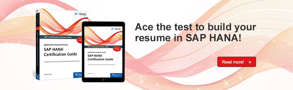 SAP HANA Exam