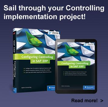 Configuring Controlling in SAP ERP - SAP PRESS Book