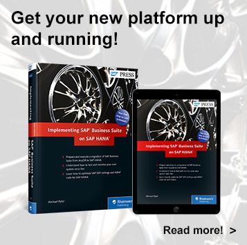 Implementing SAP Business Suite on SAP HANA - SAP PRESS Book
