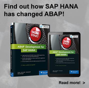 ABAP on HANA