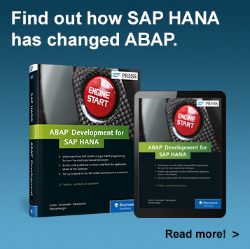 ABAP Development on SAP HANA