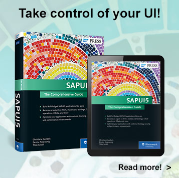 SAPUI5: The Comprehensive Guide