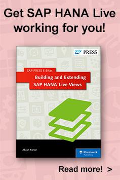 SAP HANA Live Views