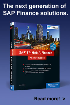 SAP S/4HANA Finance - SAP PRESS Book