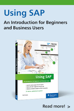 Using SAP: An Introduction for Beginners and Business Users | SAP PRESS Books and E-Books