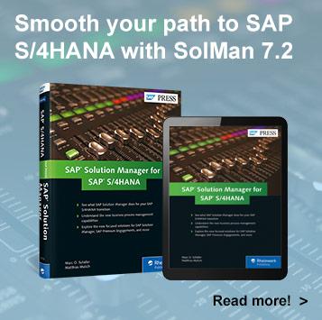 SolMan for S/4HANA