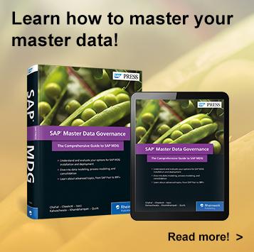 SAP Master Data Governance (SAP MDG)