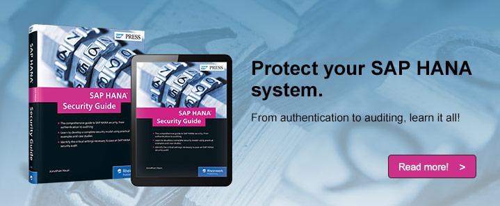 SAP HANA Security