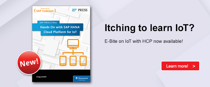 SAP HCP for IoT