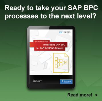 Introducing SAP BPC for SAP S/4HANA Finance