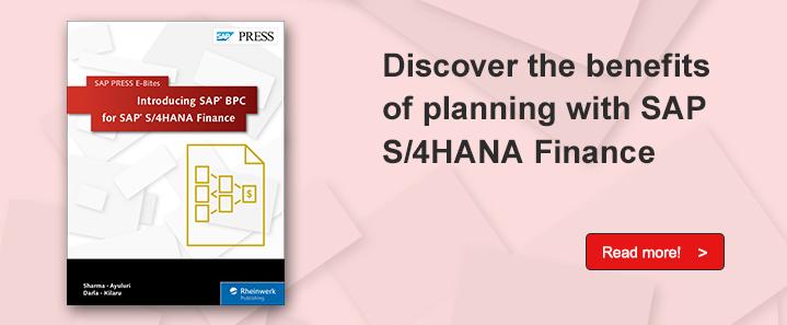 SAP BPC for S/4HANA