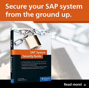 SAP System Security l SAP PRESS Books and E-Books