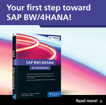 SAP BW/4HANA: An Introduction | SAP PRESS Books and E-Books
