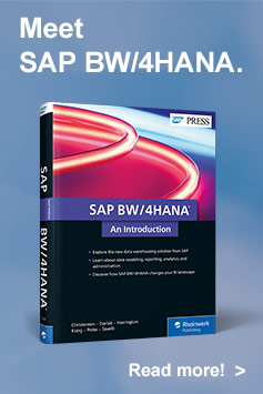 SAP BW/4HANA: An Introduction l SAP PRESS Books and E-Books