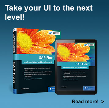 SAP Fiori Implementation and Development l SAP PRESS Books and E-Books