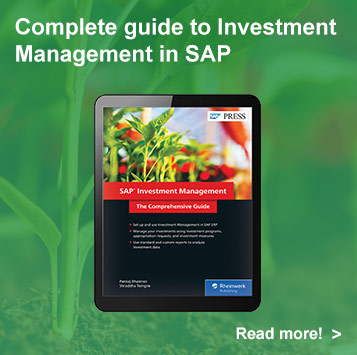 Investment Management with SAP ERP