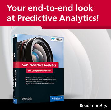 SAP Predictive Analytics | SAP PRESS Books and E-Books