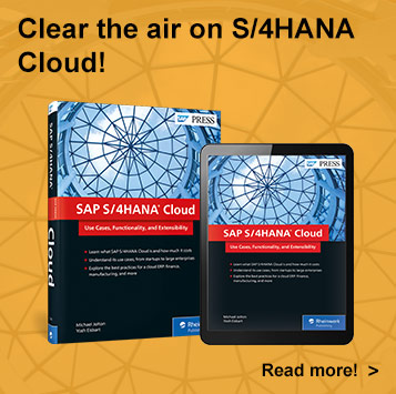 SAP S/4HANA Cloud l SAP PRESS Books and E-books